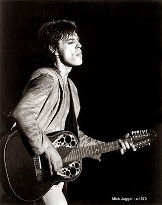 Mick Jagger 1980 Mick Jagger On Stage C  1980