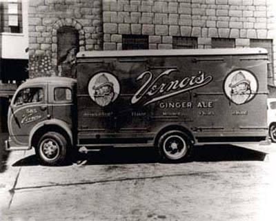 Vernors Ginger Ale Truck C.