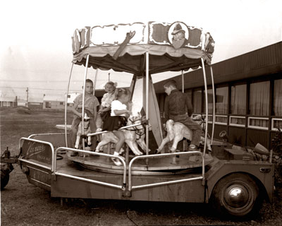 Vernors Ginger Ale Mobile Merry Go Round C.